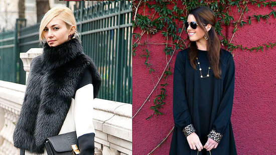 Wear Black and White For the Holidays (and Stand Out!)