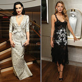 Blake Lively and Dita Von Teese Vintage Fashion Looks