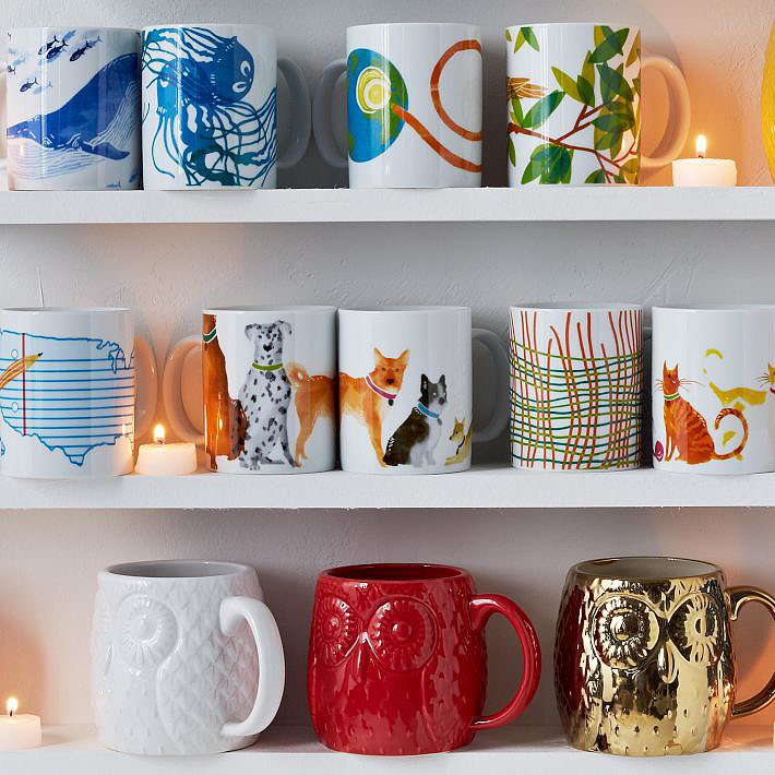 West Elm Charity Mugs