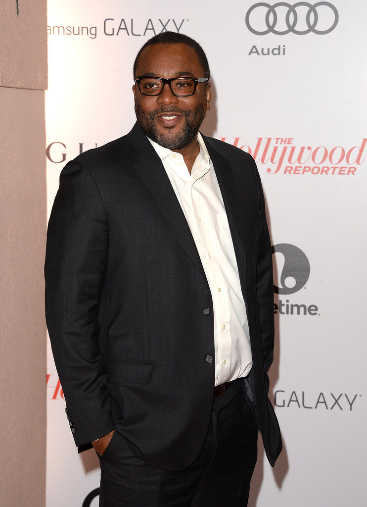 Lee Daniels attended to show his support for Oprah, whom he directed in The Butler.