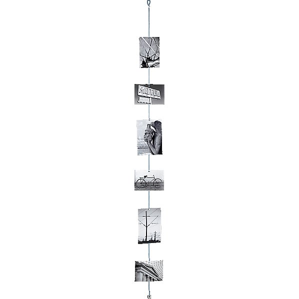 This CB2 photo cord ($7) is a great, affordable way for her to display photos of her favorite people and places.