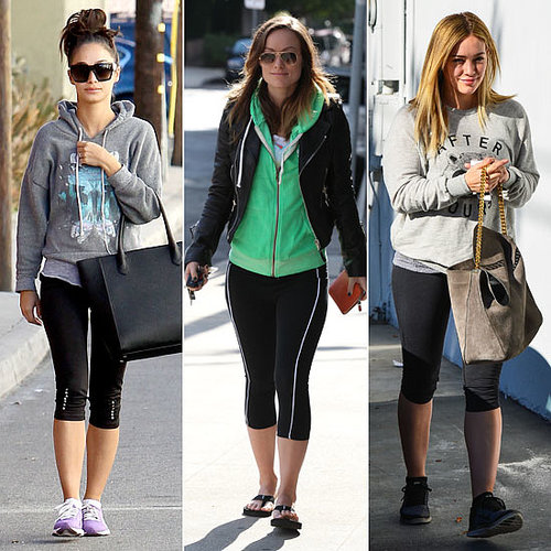 Celebrities Exercise, Celebrity Workout Wear
