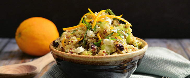 Savory Sight: Cranberry, Orange, and Goat Cheese Quinoa Salad