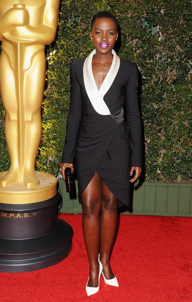 Lupita Nyong'o at the Academy's Governer Awards