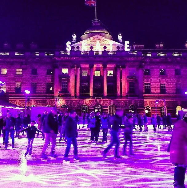 The perfect place for acing a triple axel. Source: Instagram user netaporter