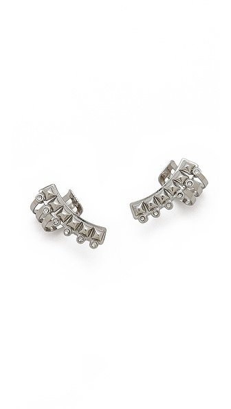 Seeking studs for the glamour girl? Look no further than these Rebecca Minkoff Curbs Ear Cuff Earrings ($48).