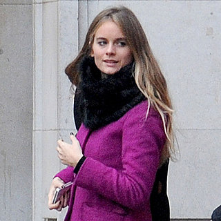 Cressida Bonas Christmas Shopping in London