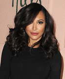 Naya Rivera played up her big brown eyes with faux eyelashes and 360 degrees of black eyeliner.