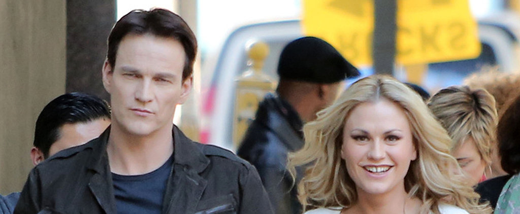 Anna Paquin and Stephen Moyer Show PDA — With Diddy?