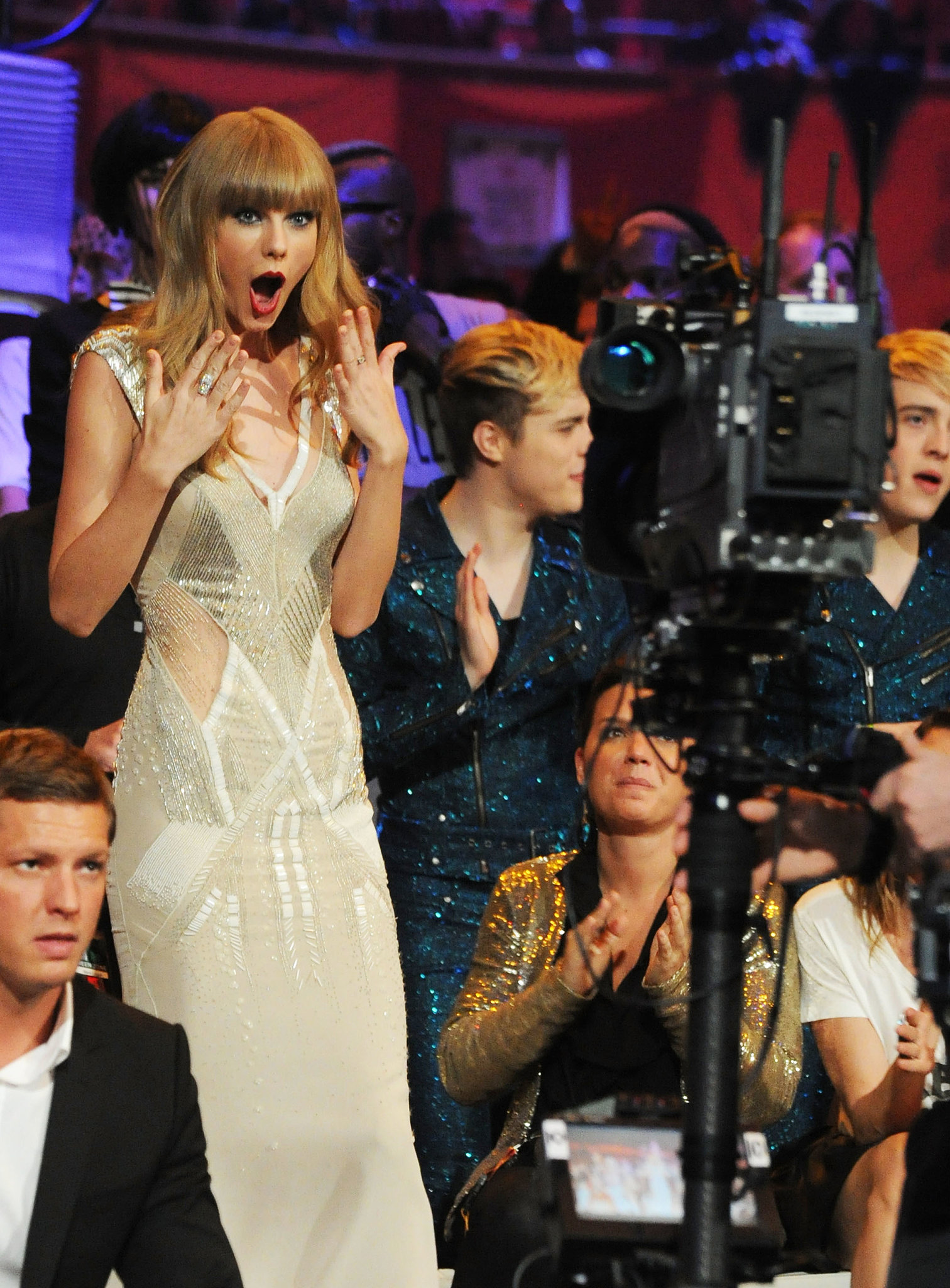 Taylor Swift was shocked to win an award at the MTV EMAs in November 2012.