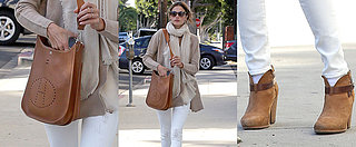 Alessandra Ambrosio Looks Perfect in Winter Neutrals