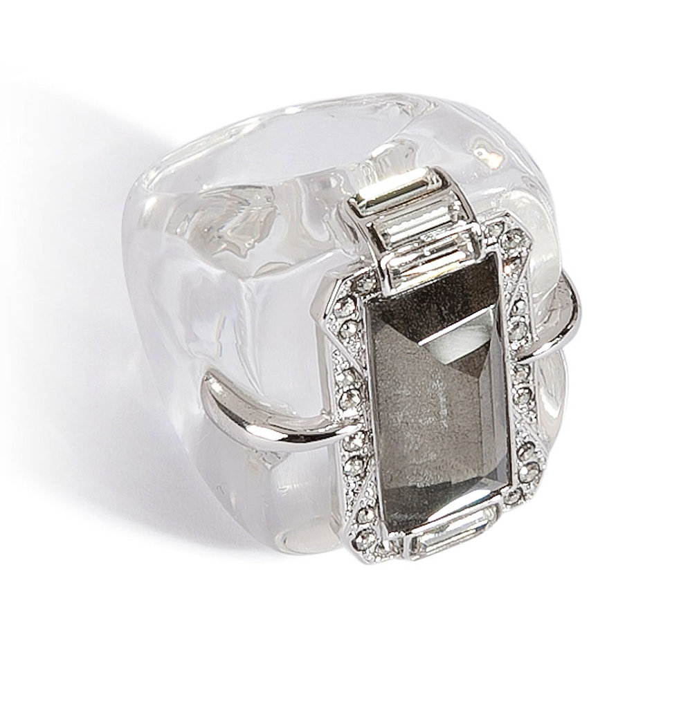Alexis Bittar Santa Fe Deco Cocktail Ring ($275)