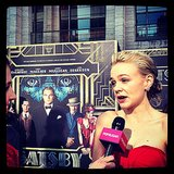 Carey Mulligan was positively glowing on the red carpet for The Great Gatsby.