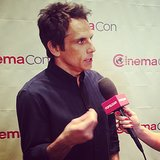 While we were at CinemaCon, Ben Stiller gave us some exciting information about The Secret Life of Walter Mitty.