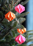 Paper Diamond Ornaments