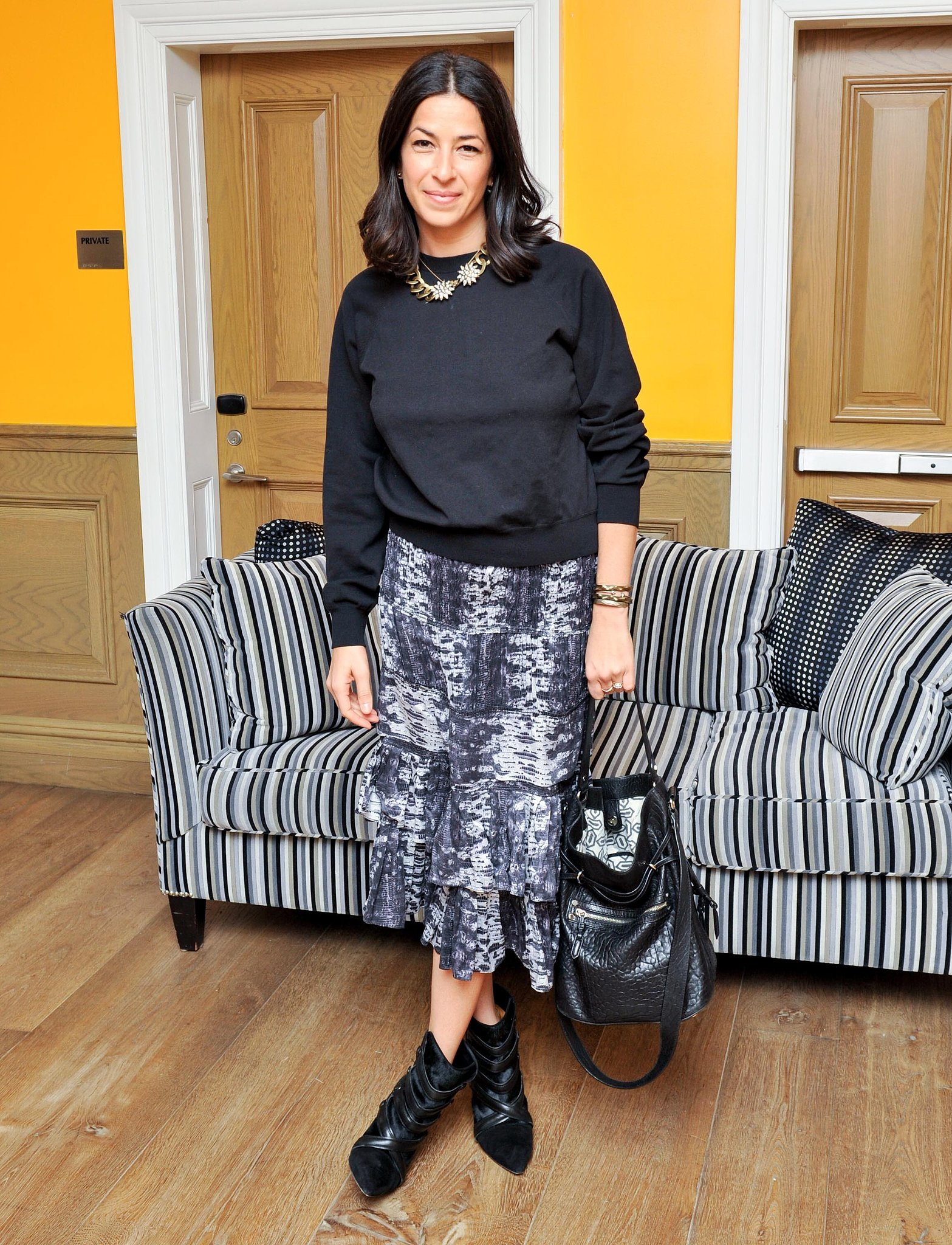 Rebecca Minkoff at ASOS's January issue launch.