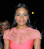 If it were up to Naomie Harris, she'd have you wearing a hot-pink dress and icy blue shadow to your next holiday affair.