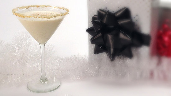 Make Merry With an Eggnog Martini