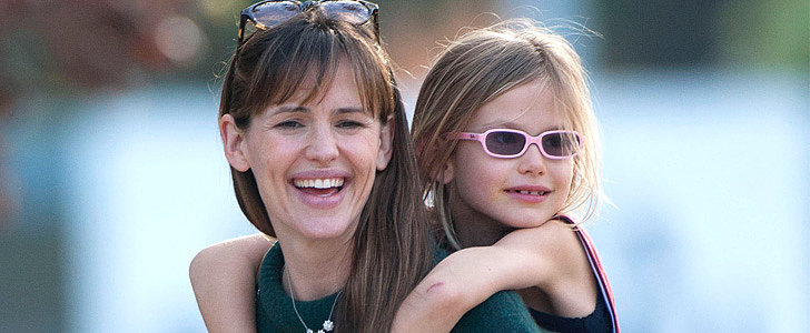 Jennifer Garner Has Violet on Her Side — and Back