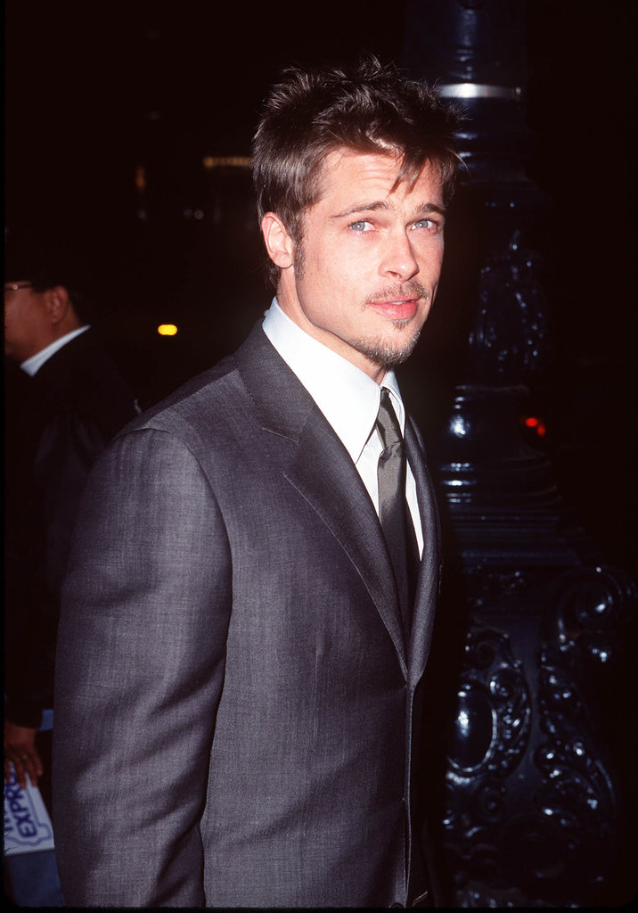 Brad Pitt showed off some scruff at the Meet Joe Black Beverly Hills premiere in November 1998.