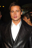 Hello, lover! Brad Pitt was clad in leather for the LA premiere of Ocean's Twelve in December 2004.