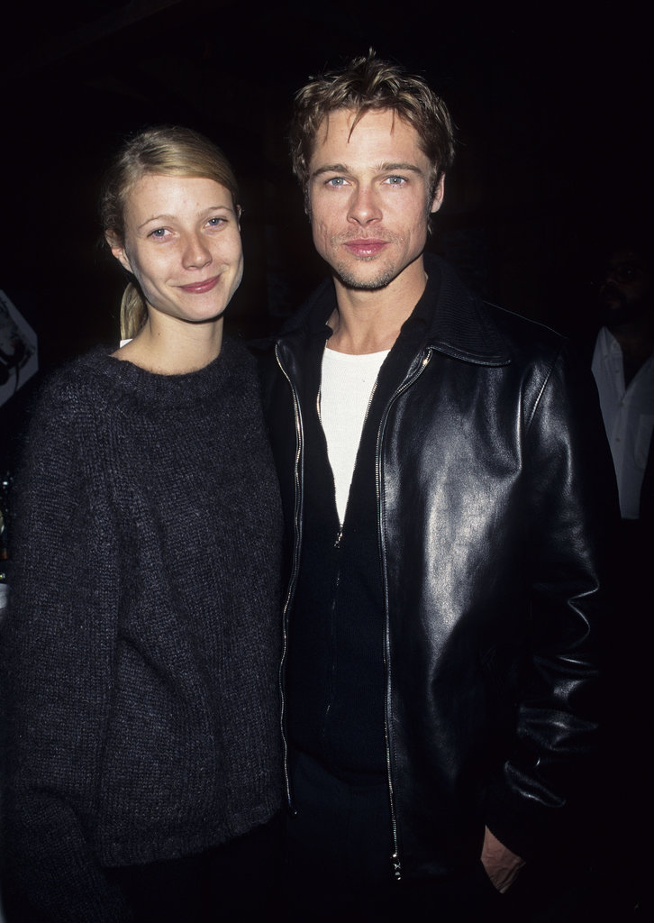 Brad Pitt and his then-girlfriend Gwyneth Paltrow matched up for David Bowie concert in LA back in October 1995.