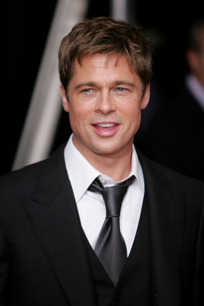 Brad Pitt sported a sleek suit and tie for the NYC premiere of A Mighty Heart in June 2007.