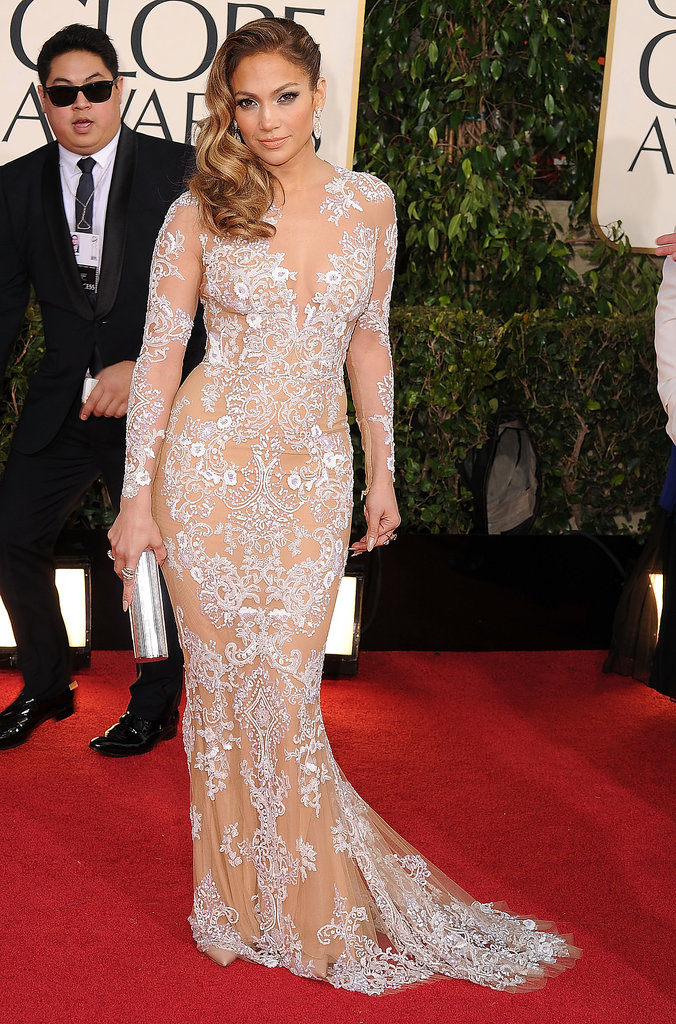 Jennifer Lopez at the Golden Globe Awards