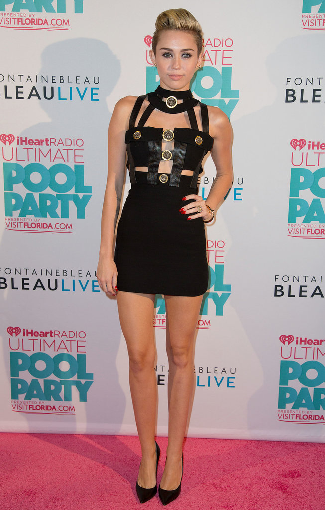 Miley Cyrus at the iHeartRadio Party