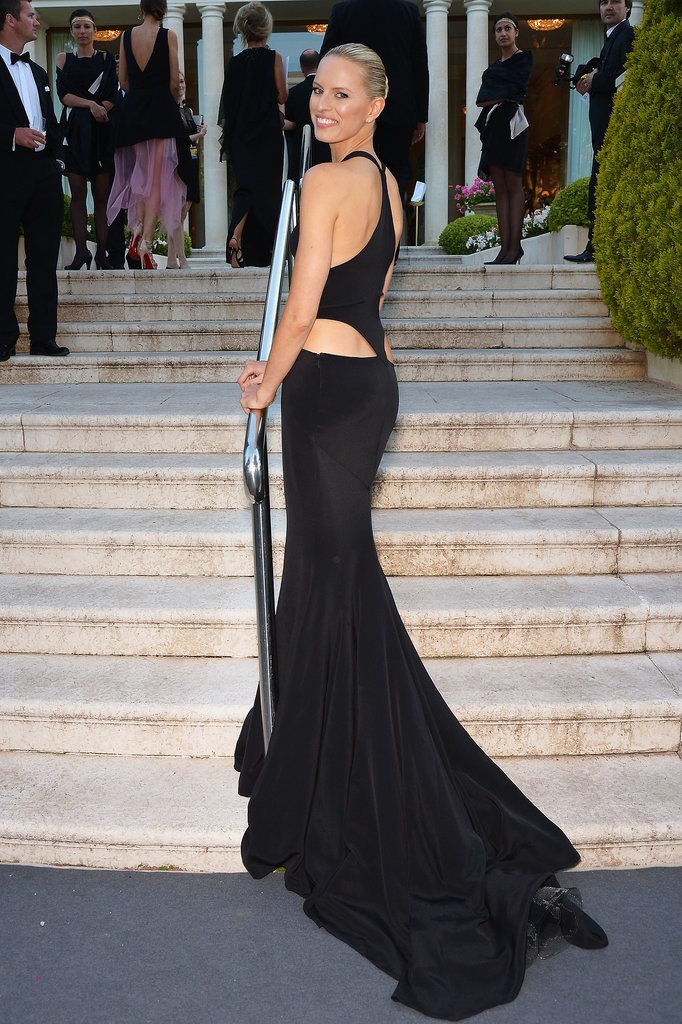 Karolina Kurkova at the amfAR Gala