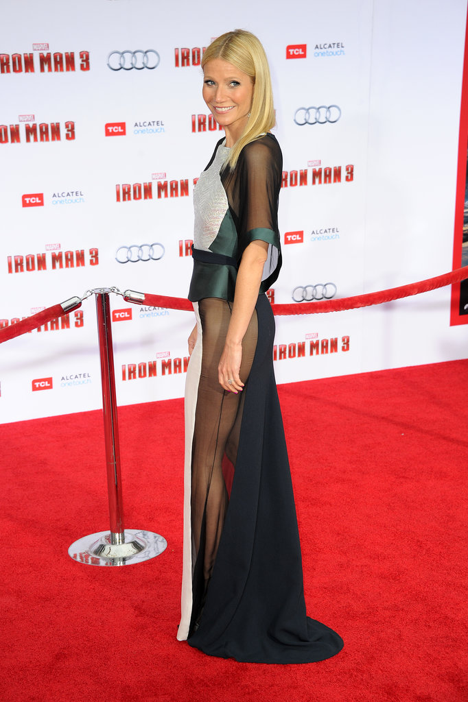 Gwyneth Paltrow at the Iron Man 3 Premiere