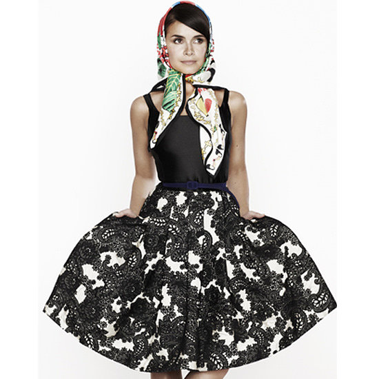 Miroslava Duma For Oscar de la Renta The Outnet Collection