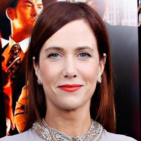 Kristen Wiig Anchorman Premiere New York With Red Lipstick