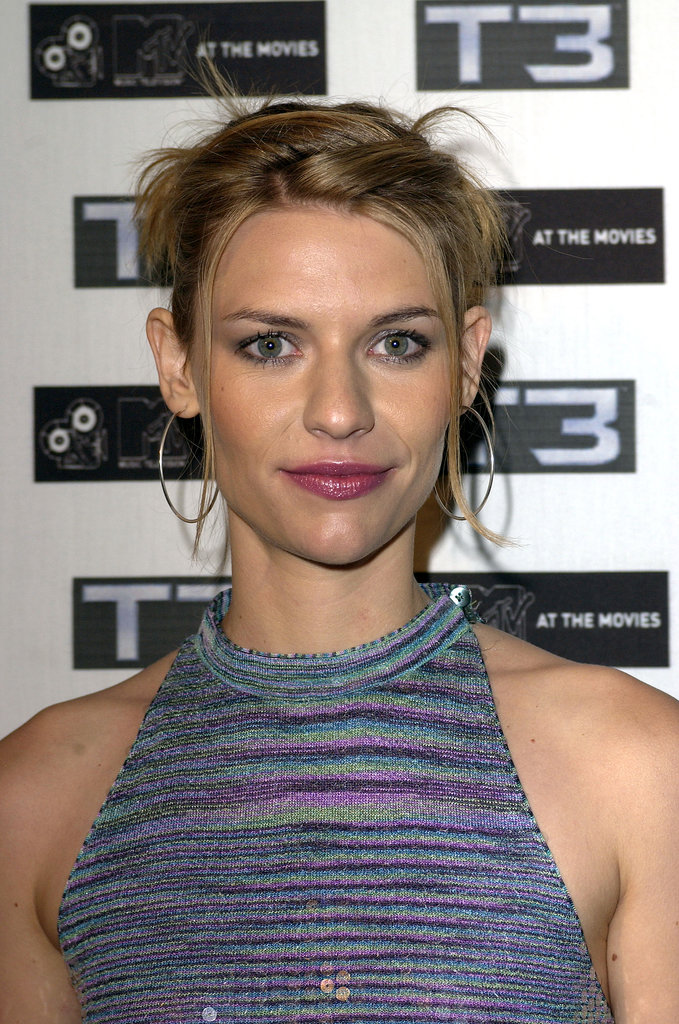 All she needed at the 2003 Cannes Film Festival were mascara and shiny purple lip gloss.