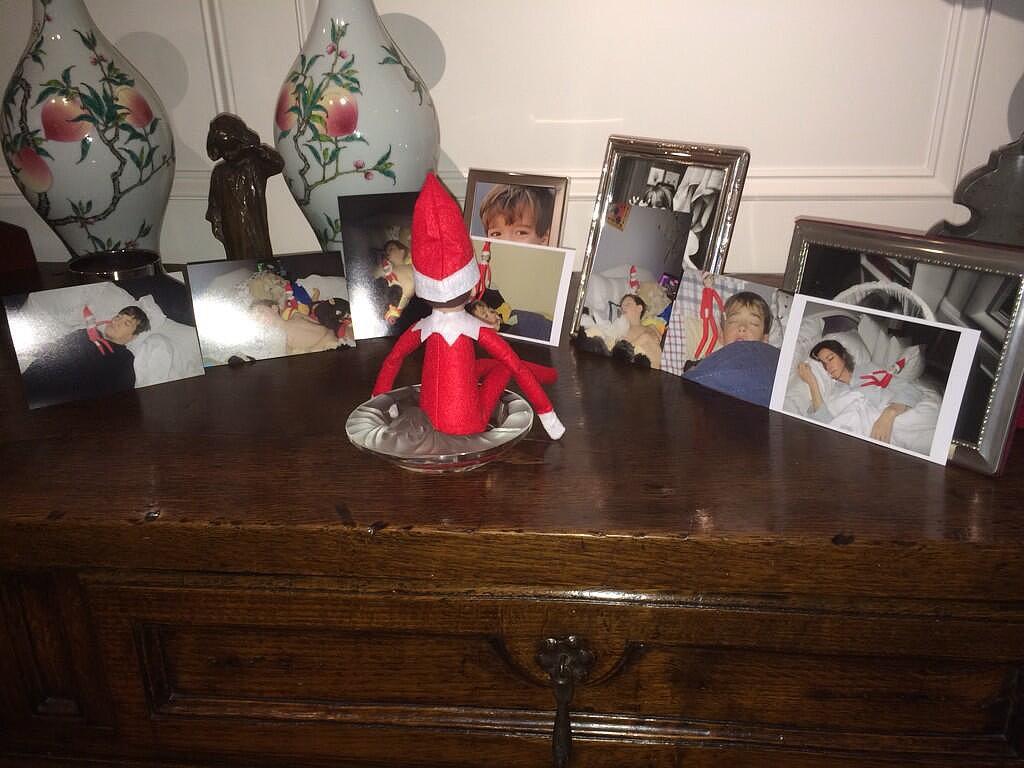 Christa Miller's Nostalgic Elf