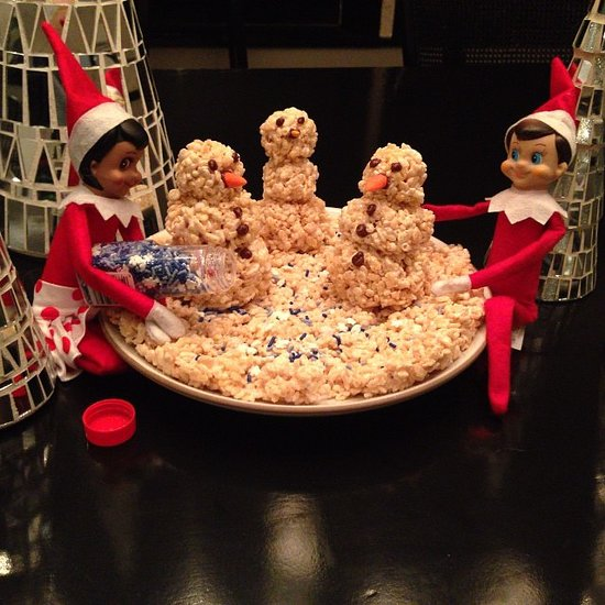 Celebs Love The Elf on the Shelf!