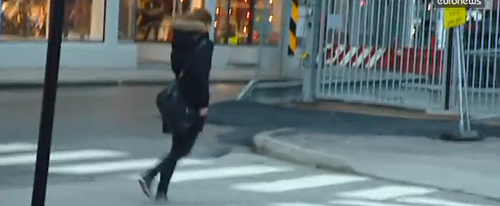 This Video of People Walking in the Wind Will Blow You Away
