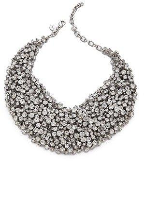 Shay accessories Crystal Bib Necklace