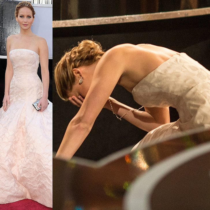 When We Literally Fell for Jennifer Lawrence