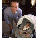 "North got ""art lessons"" with Jeff Koons during Miami's Art Basel in December.  Source: Instagram user kimkardashian"