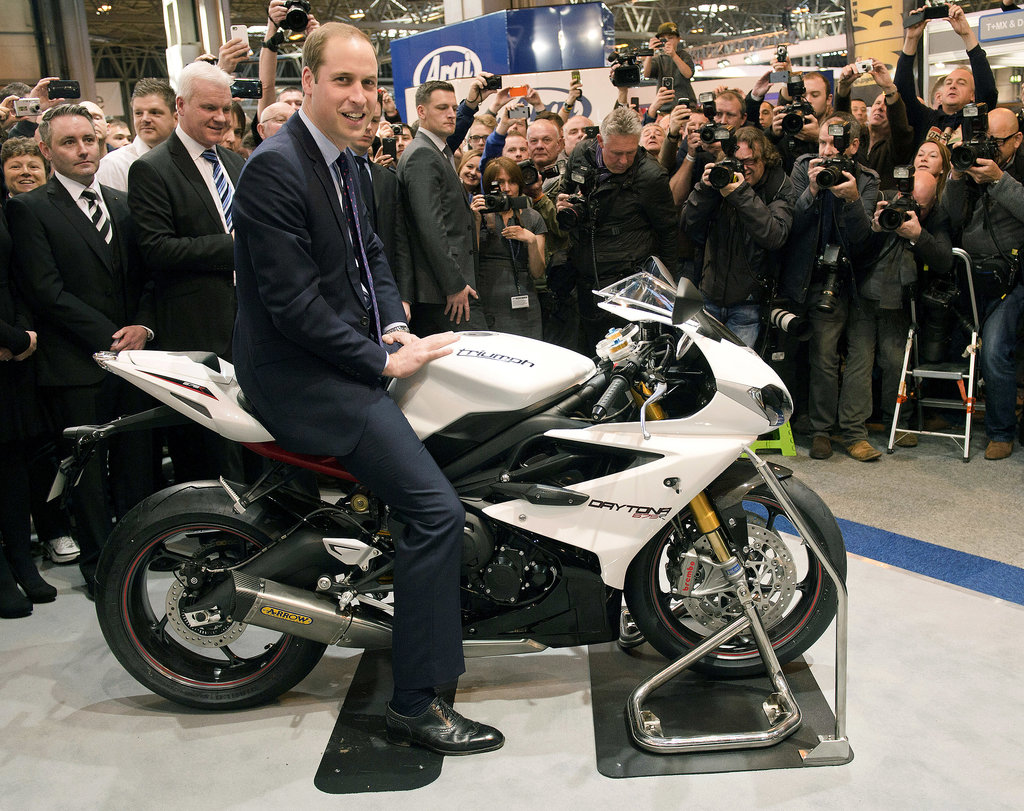 Prince William, Easy Rider.