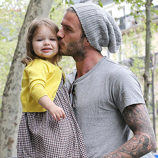 David and Harper Beckham's Cutest Pictures 2013