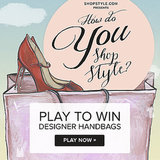 Play the ShopStyle How Do You Shop Style? game for a chance to win one of three designer bags.
