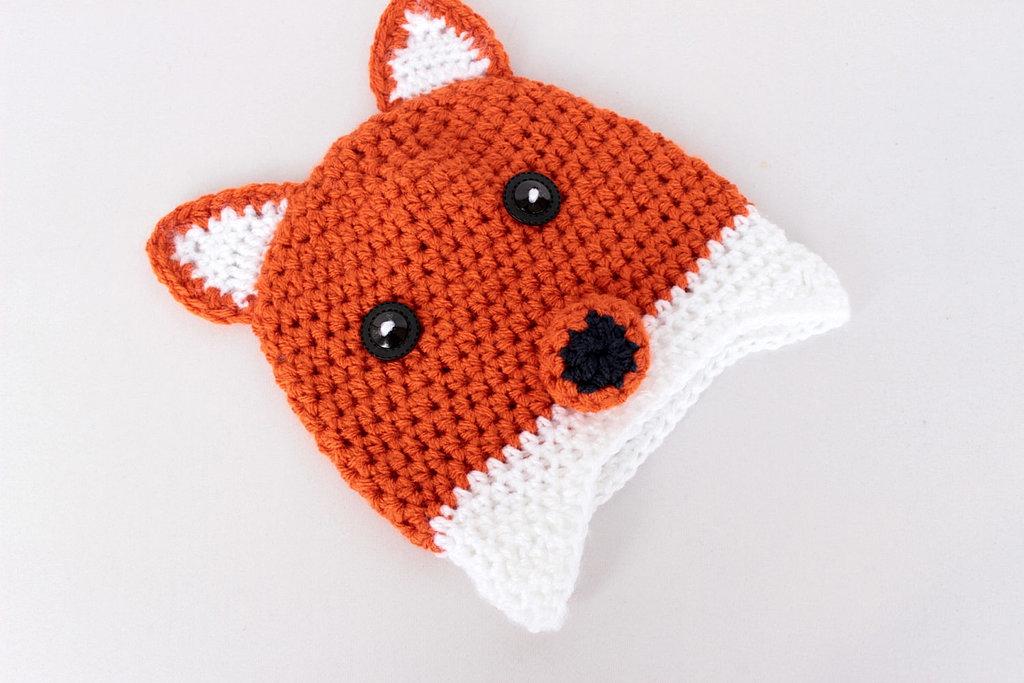 WadaWada Crochet Fox Hat