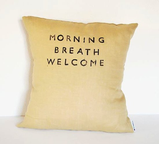 <h2>Morning Breath Pillow</h2>