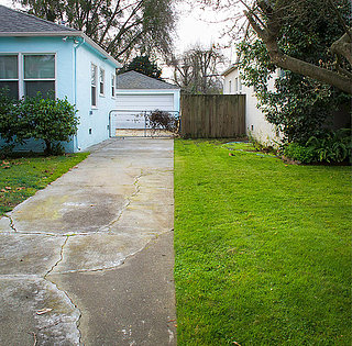 Where Front Yards Collide: Property Lines in Pictures (11 photos)