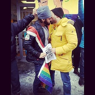 Deleted Facebook Photo Of A Gay Sikh Kissing A Man Sparks Debate On Sikhism And LGBT Rights