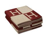 "Hermès Avalon Signature H Blanket ($1,300) ""This gift is a universally loved gift. Great for men and women. Chic and cozy . . . what more could you want?"""