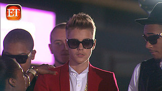 Bieber's Red Carpet Vanishing Act