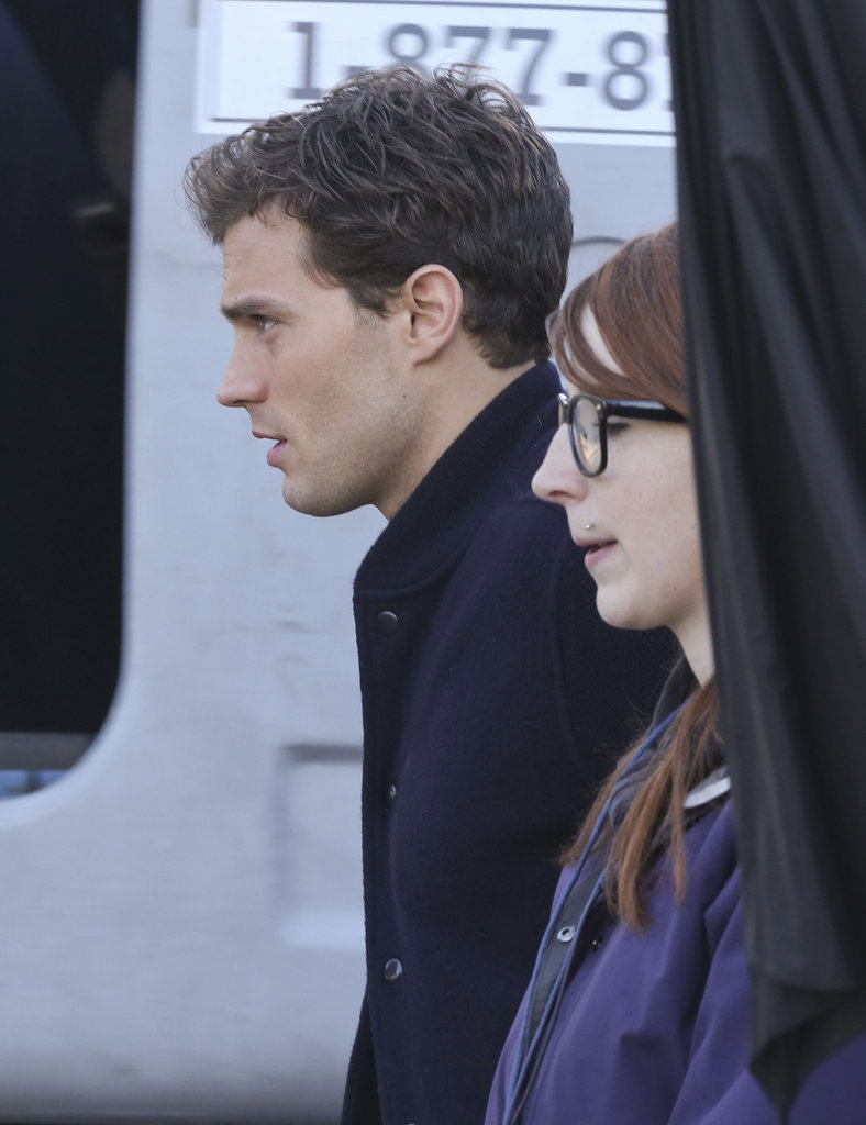 Just look at Dornan's profile!